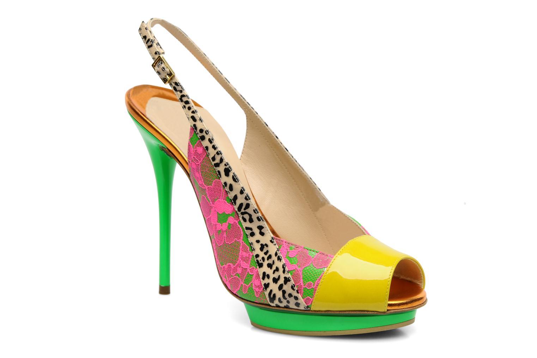 Sandals Ernesto Esposito Eba Multicolor detailed view/ Pair view