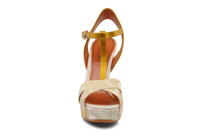 Sandales et nu-pieds Missoni Mabelle Multicolore vue portées chaussures