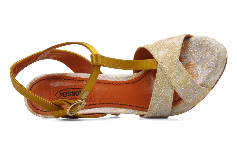 Sandalen Missoni Mabelle mehrfarbig ansicht von links