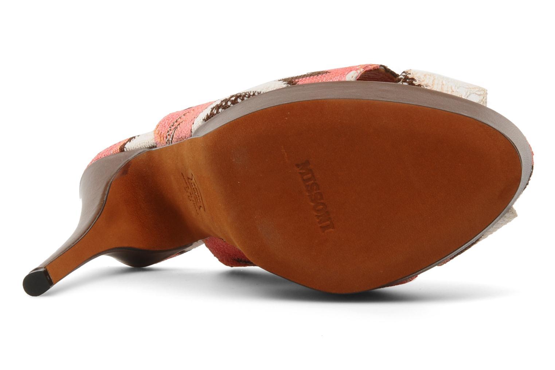 Sandalen Missoni Meissa mehrfarbig ansicht von oben
