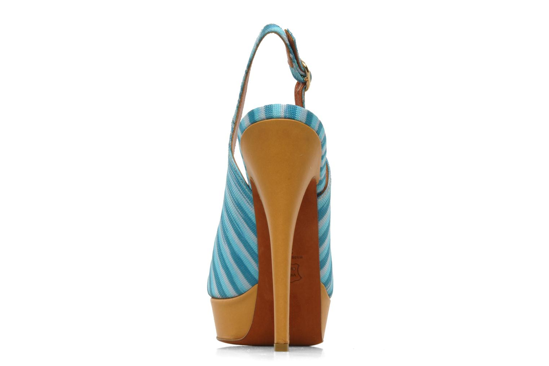 Sandales et nu-pieds Missoni Miranie Multicolore vue droite