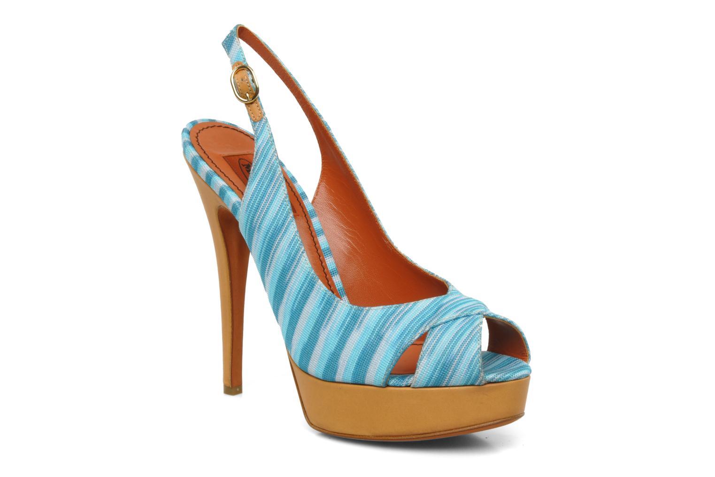 Sandales et nu-pieds Missoni Miranie Multicolore vue détail/paire