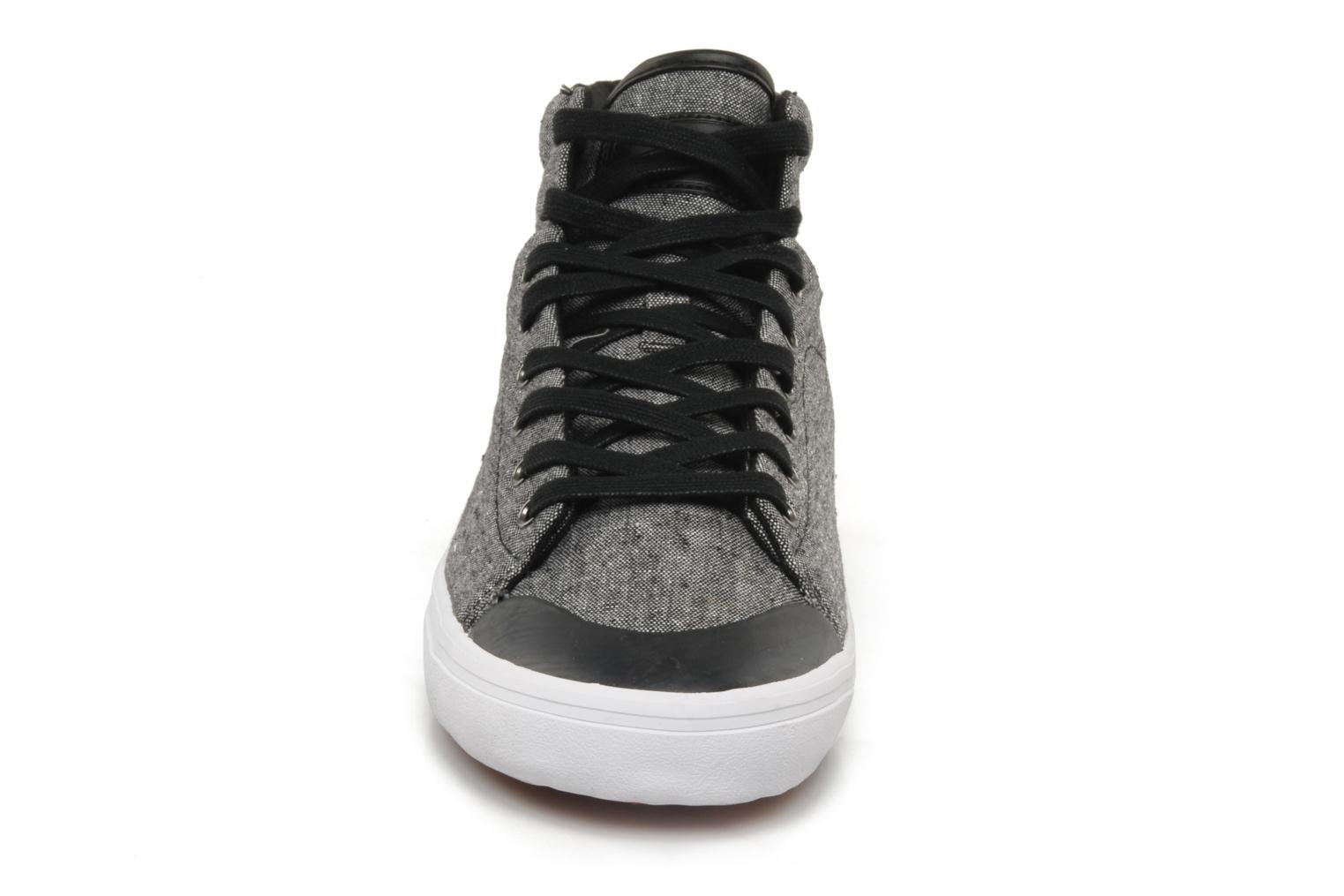 Hemp mid textile M Black