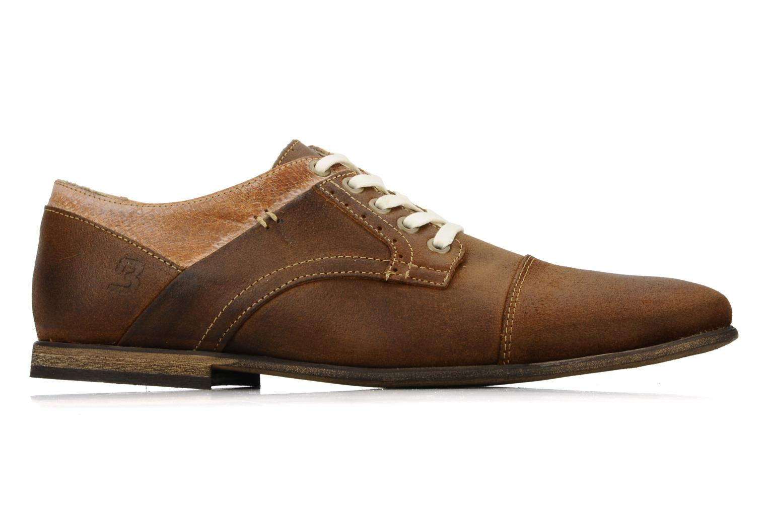 Lace-up shoes Bullboxer Herma Brown back view
