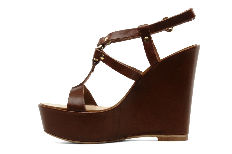 Sandalen Tosca Blu Shoes Girasole Bruin voorkant