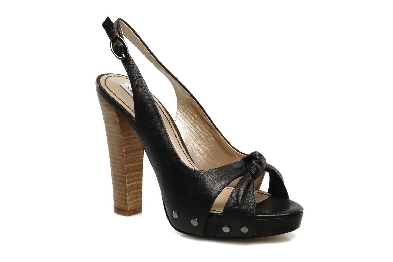 Sandales et nu-pieds Tosca Blu Shoes Ninfea Noir vue détail/paire