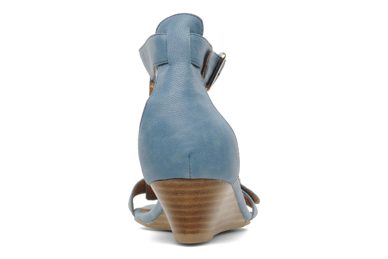 Sandales et nu-pieds Jeffrey Campbell Barbary Spike Bleu vue droite