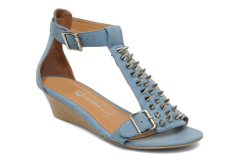 Sandales et nu-pieds Jeffrey Campbell Barbary Spike Bleu vue détail/paire
