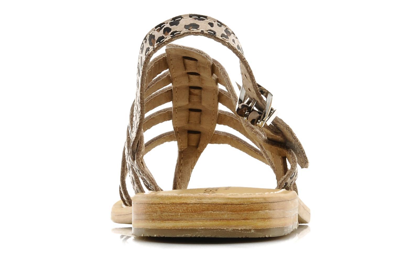 Sandalen Les Tropéziennes par M Belarbi Leopard mehrfarbig ansicht von rechts