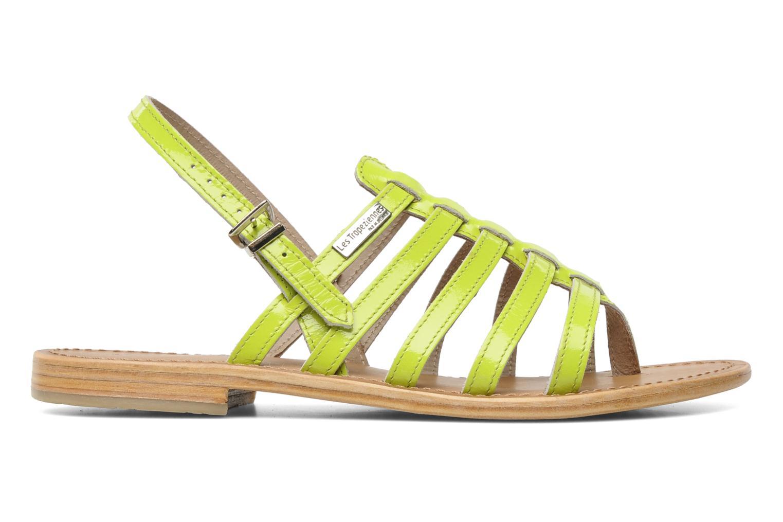 Sandalen Les Tropéziennes par M Belarbi Herflash gelb ansicht von hinten