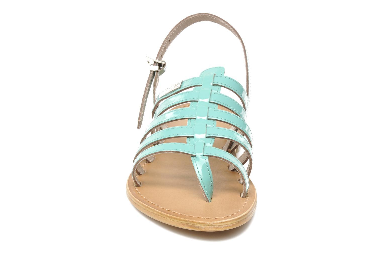 Sandales et nu-pieds Les Tropéziennes par M Belarbi Herflash Vert vue portées chaussures