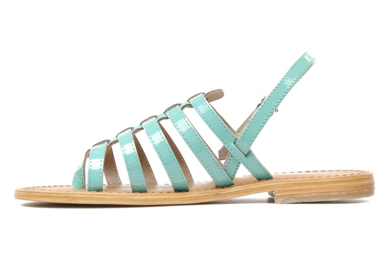 Sandales et nu-pieds Les Tropéziennes par M Belarbi Herflash Vert vue face