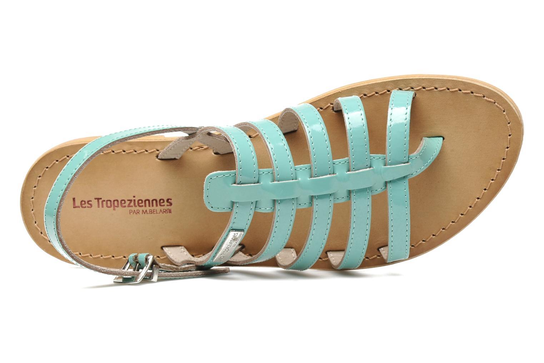 Sandales et nu-pieds Les Tropéziennes par M Belarbi Herflash Vert vue gauche