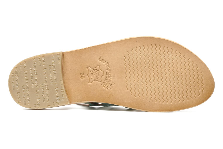 Sandales et nu-pieds Les Tropéziennes par M Belarbi Herflash Vert vue haut