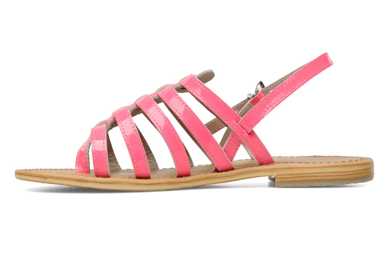 Sandales et nu-pieds Les Tropéziennes par M Belarbi Herflash Rose vue face