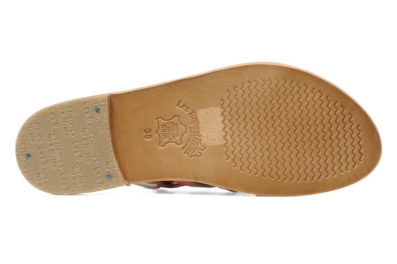 Sandales et nu-pieds Les Tropéziennes par M Belarbi Herflash Rose vue haut