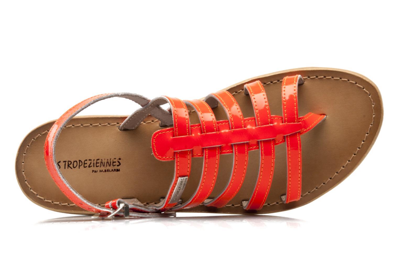 Sandales et nu-pieds Les Tropéziennes par M Belarbi Herflash Orange vue haut