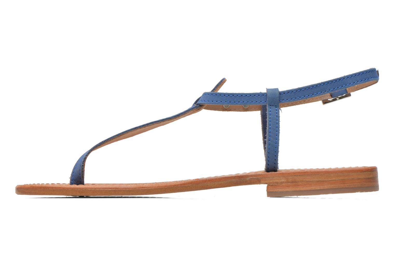 Sandales et nu-pieds Les Tropéziennes par M Belarbi Narbuck Bleu vue face