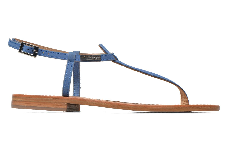 Sandales et nu-pieds Les Tropéziennes par M Belarbi Narbuck Bleu vue derrière