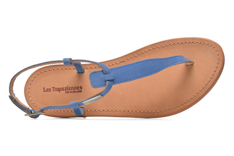 Sandalen Les Tropéziennes par M Belarbi Narbuck blau ansicht von links