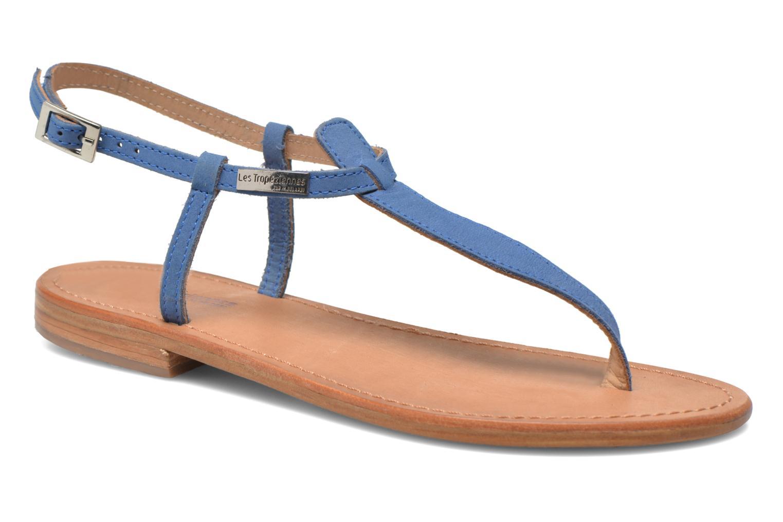 Sandalen Les Tropéziennes par M Belarbi Narbuck blau detaillierte ansicht/modell