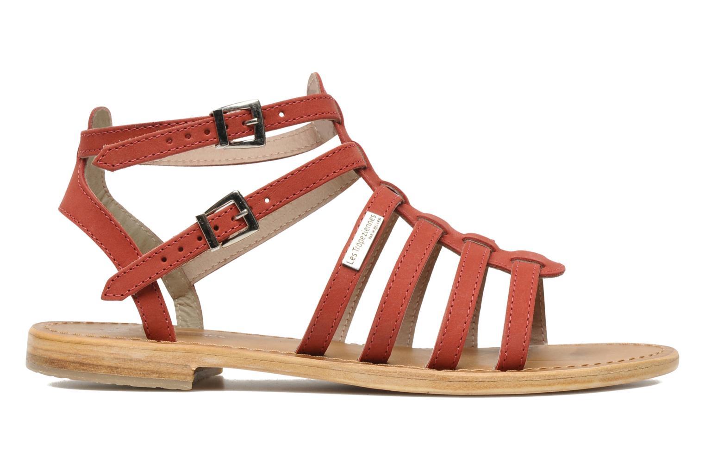 Sandales et nu-pieds Les Tropéziennes par M Belarbi Hortense Rouge vue derrière