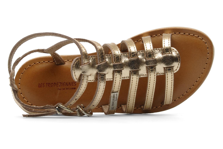 Sandales et nu-pieds Les Tropéziennes par M Belarbi Hic E Or et bronze vue gauche