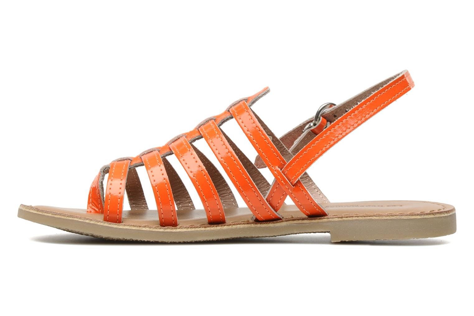 Sandals Les Tropéziennes par M Belarbi Herflash E Orange front view