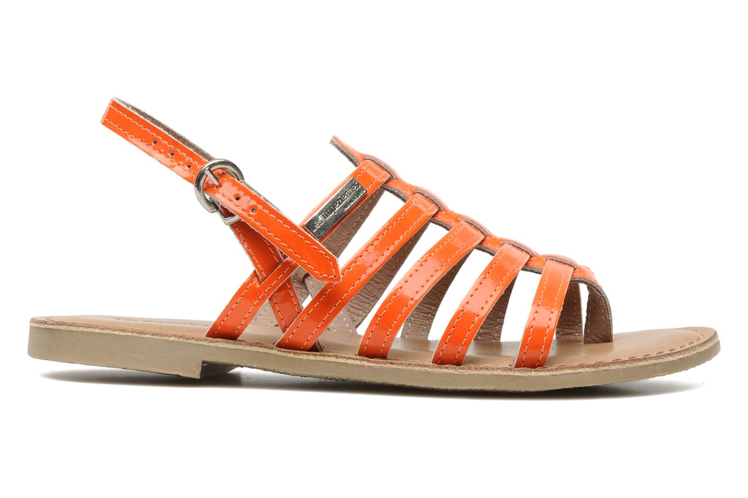 Sandals Les Tropéziennes par M Belarbi Herflash E Orange back view