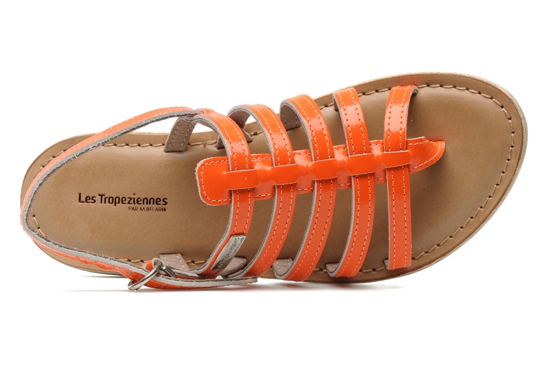 Sandalias Les Tropéziennes par M Belarbi Herflash E Naranja vista lateral izquierda