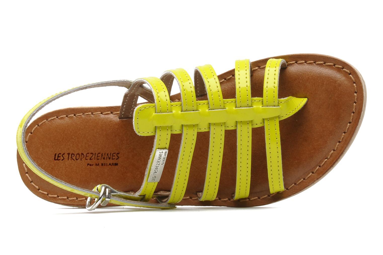 Sandales et nu-pieds Les Tropéziennes par M Belarbi Herflash E Jaune vue gauche