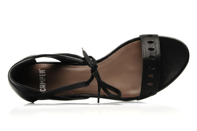 Sandales et nu-pieds Camper Holly 21609 Noir vue gauche