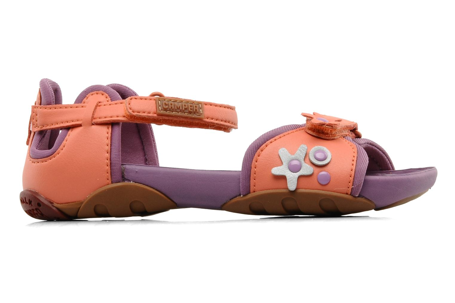 Sandals Camper Ous Kids 80312 Pink back view