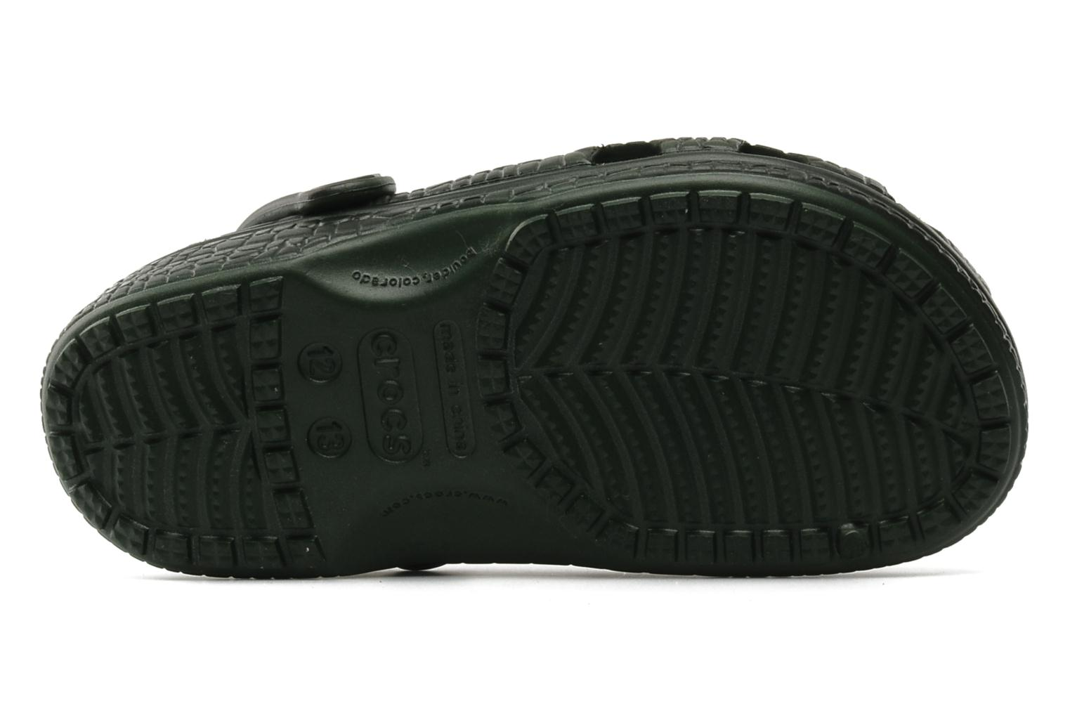 Crocskin Classic Kids Forest Green-Black