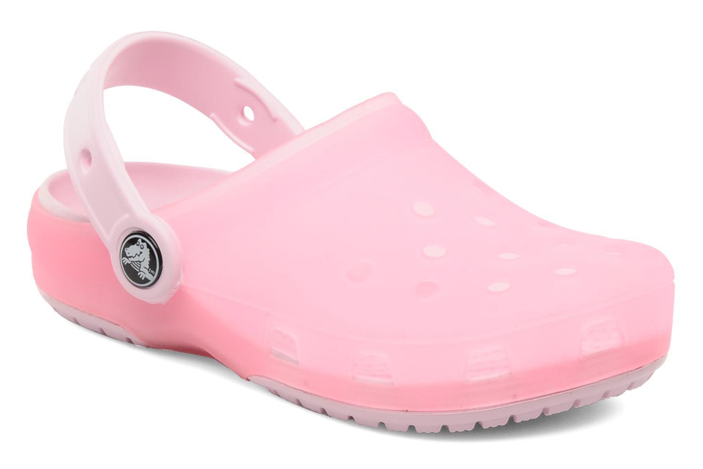 Sandales et nu-pieds Crocs Crocs Chameleons Translucent Clog Kids Rose vue détail/paire