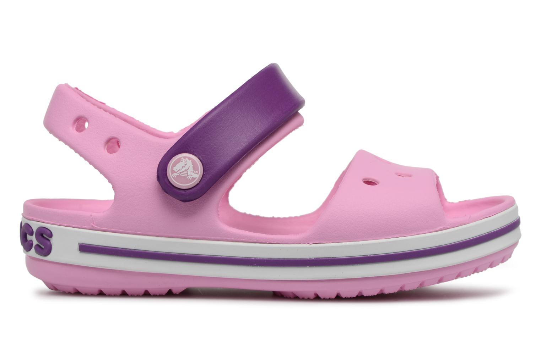 Sandali e scarpe aperte Crocs Crocband Sandal Kids Rosa immagine posteriore