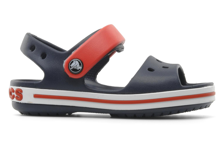 Sandales et nu-pieds Crocs Crocband Sandal Kids Bleu vue derrière
