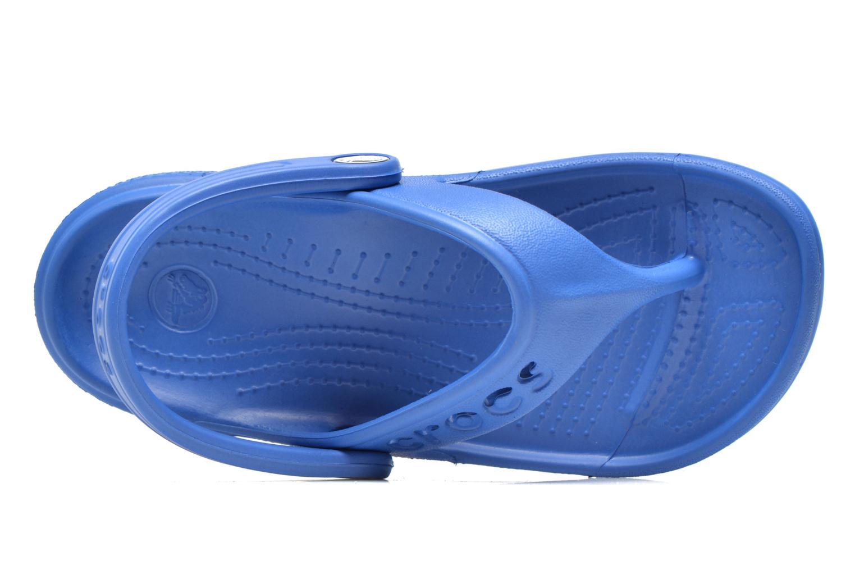 Tongs Crocs Baya Summer Flip Kids Bleu vue gauche