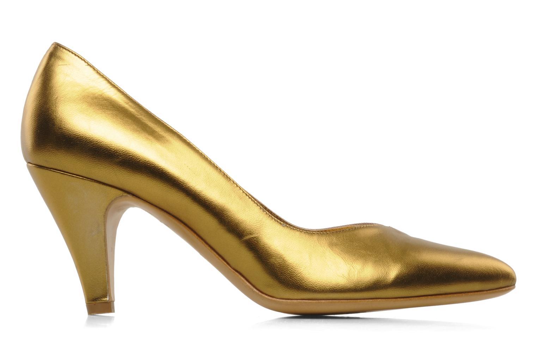 Høje hæle Atelier Mercadal Escarpin Vintage Vava Guld og bronze se bagfra