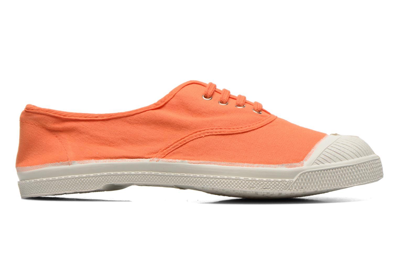 Baskets Bensimon Tennis Lacets Orange vue derrière