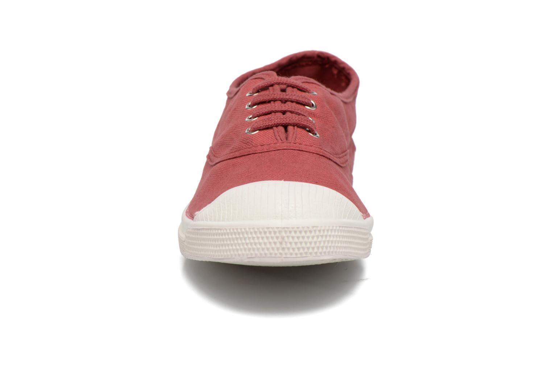 Sneaker Bensimon Tennis Lacets weinrot schuhe getragen