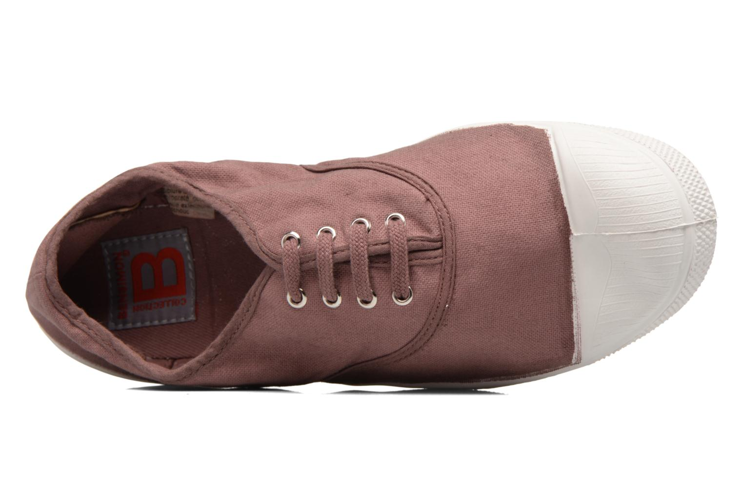 Trainers Bensimon Tennis Lacets Pink view from the left