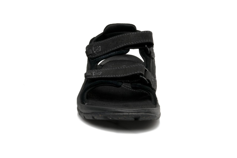 Chaussures de sport Columbia Monterosso Noir vue portées chaussures