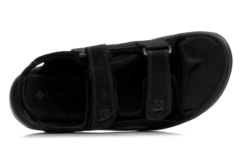 Chaussures de sport Columbia Monterosso Noir vue gauche