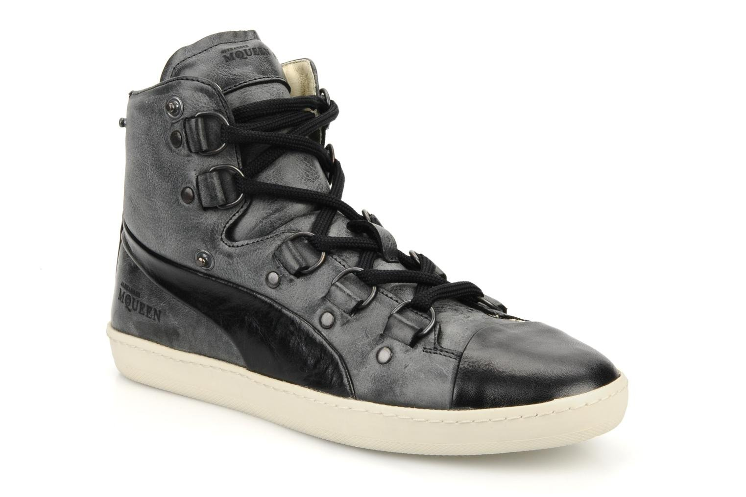Trainers Puma by Alexander Mc Queen W's amq bound mid Black 3/4 view