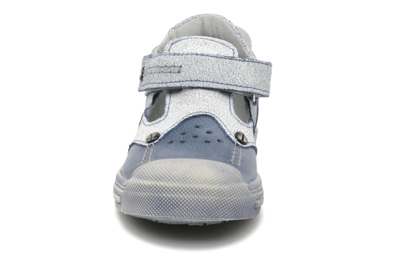 Sandales et nu-pieds Minibel CEYLAN Bleu vue portées chaussures