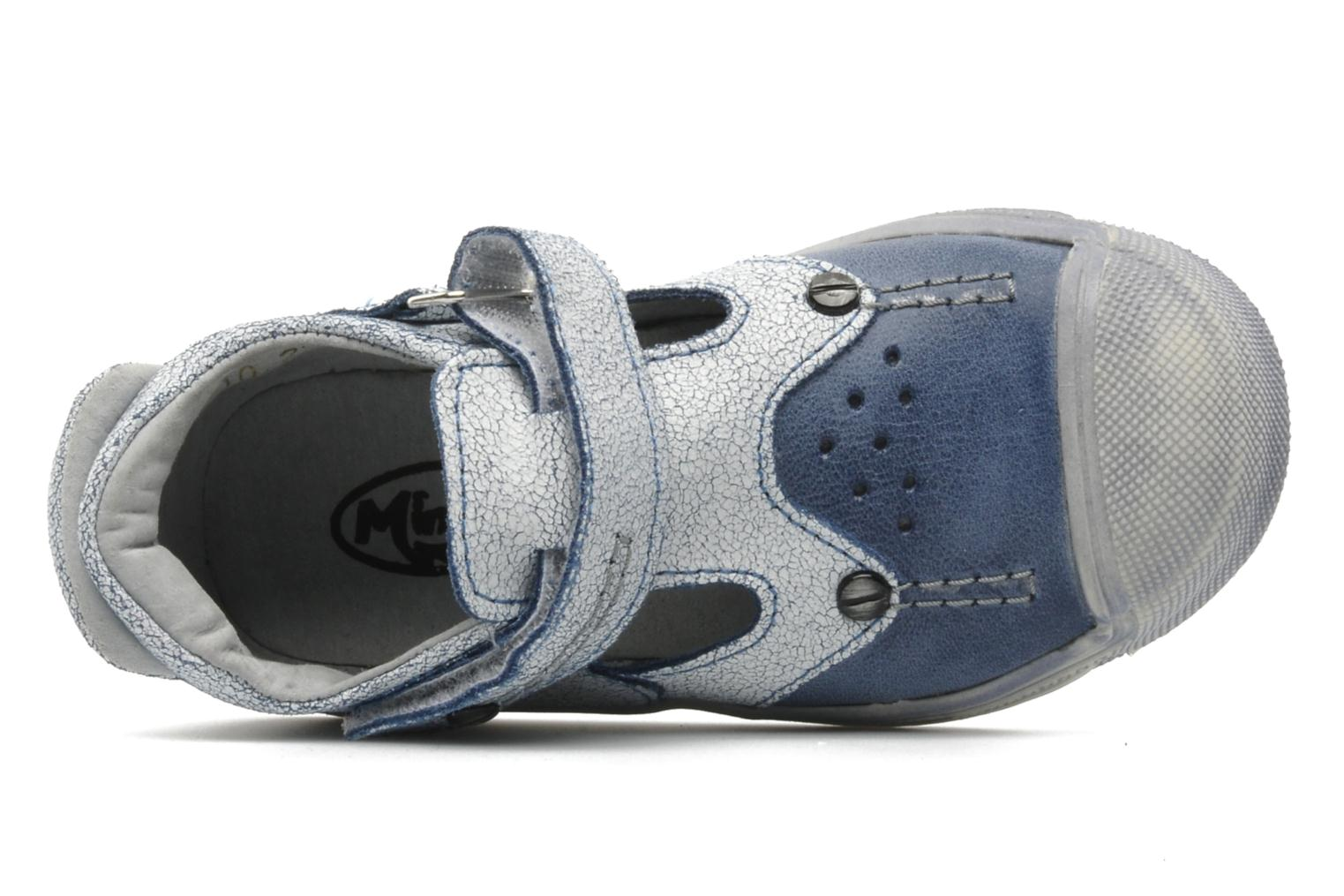 Sandalen Minibel CEYLAN Blauw links