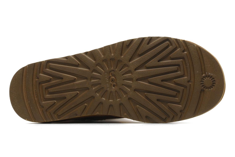 Bottines et boots UGG Mini bailey button Marron vue haut