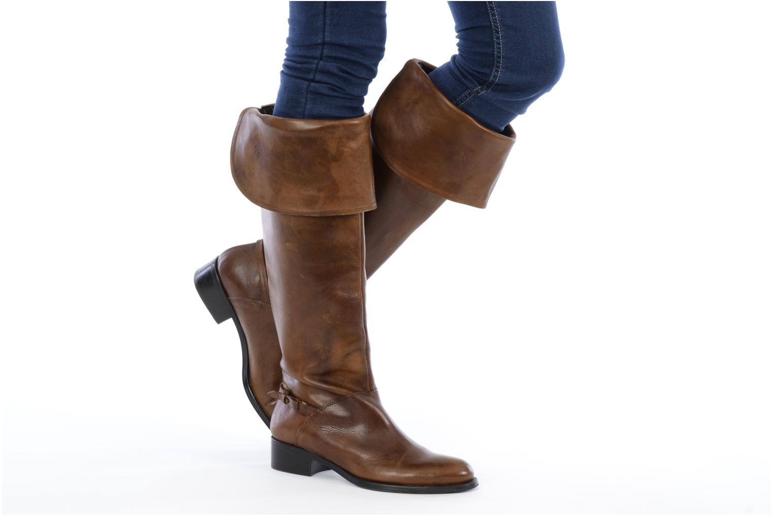 Boots & wellies Jonak Indi Brown view from underneath / model view