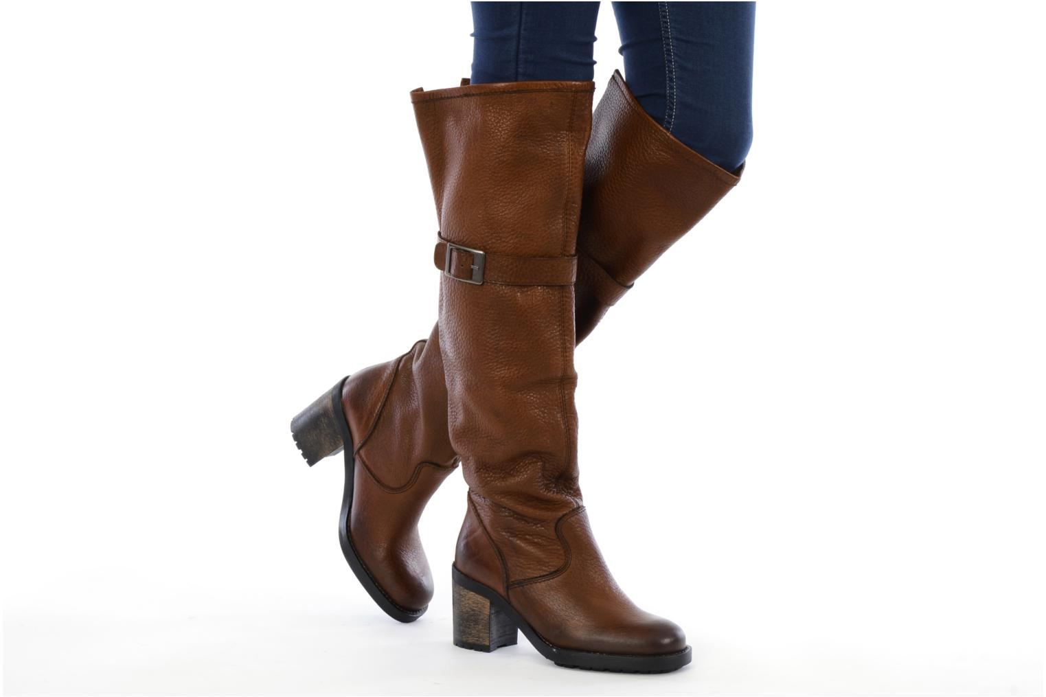 Boots & wellies Jonak Radia Brown view from underneath / model view